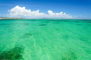 Smaragdbucht Meer Madagaskar Paradies türkis