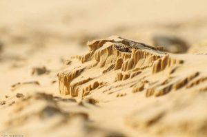 Schlucht Klippe Berg Sand Sonne