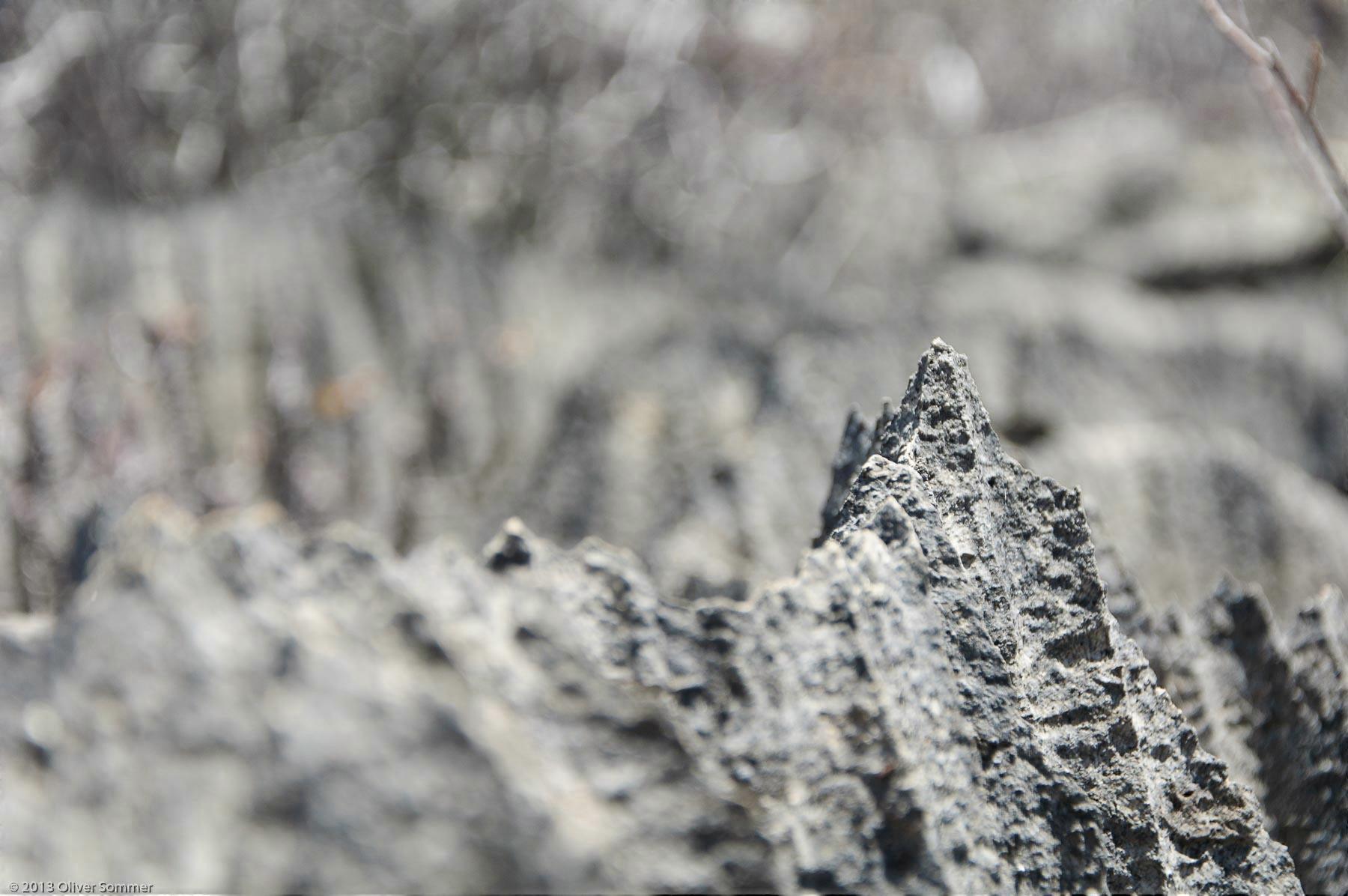 Felsschlucht Klippe Madagaskar Ankarana Fels