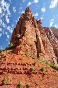Klippe Weeping Rock Zion Utah