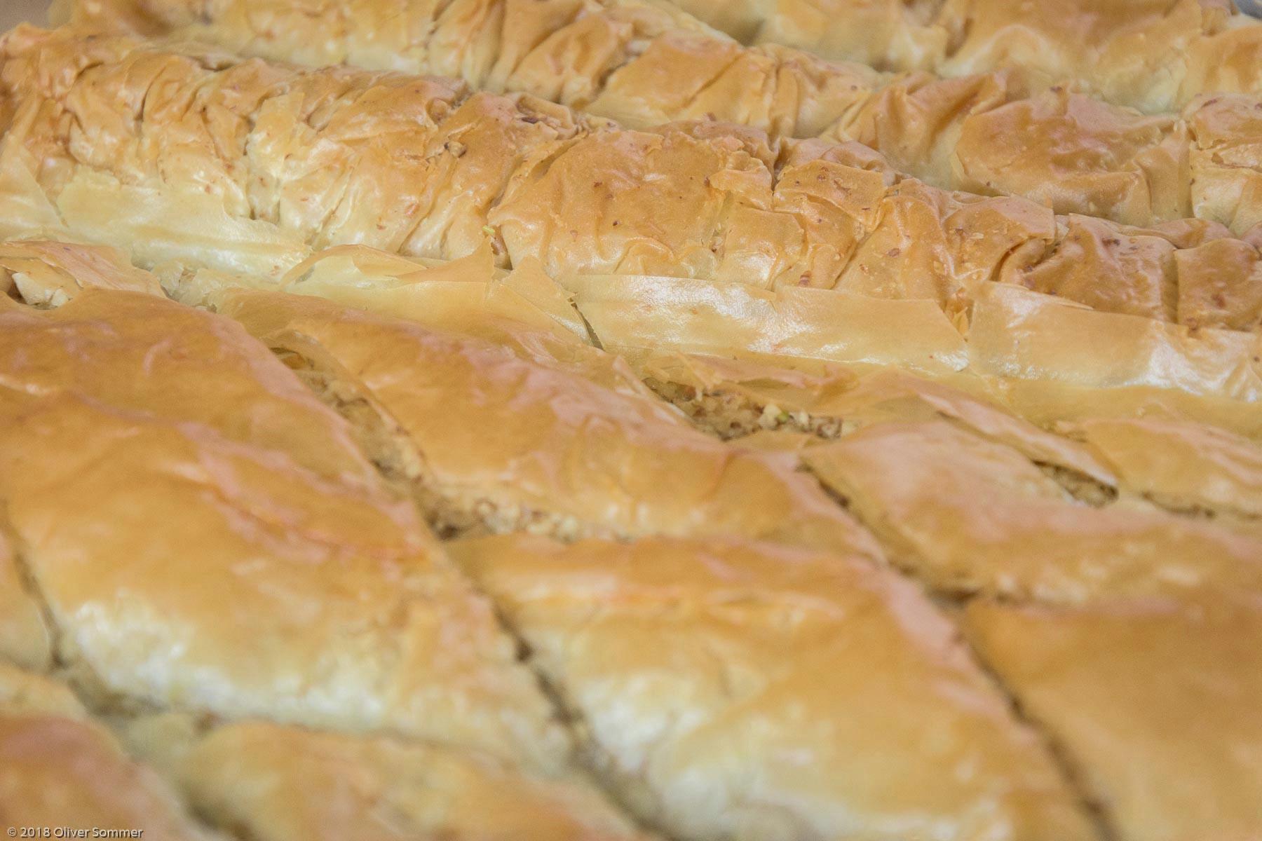 Baklava, Butter, Filo Dough, Pistachio, Walnuts, Yufka
